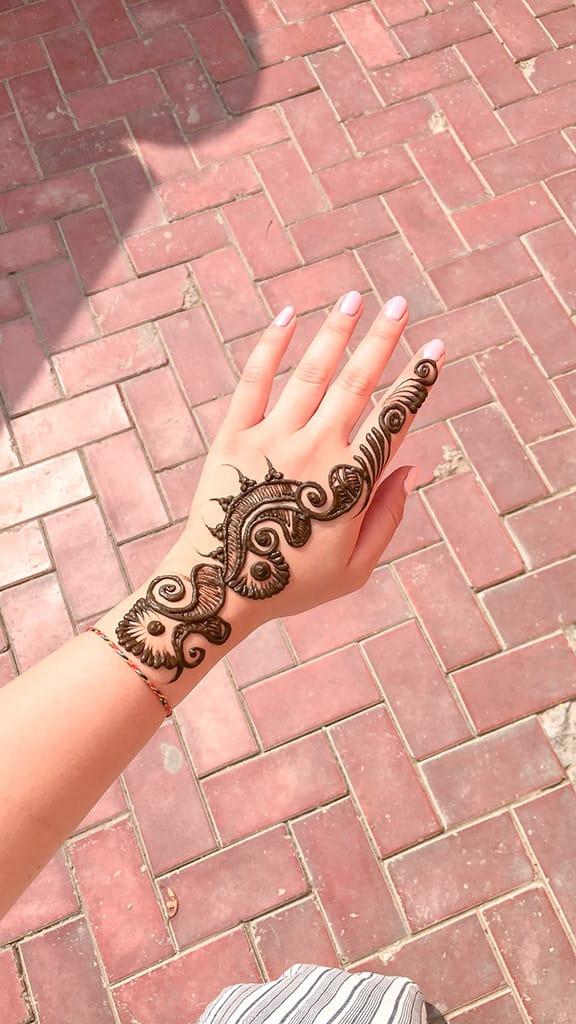 Amritsar Sadda Pind Henna Art