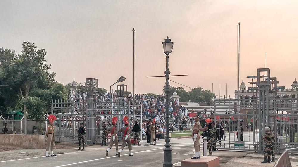 Amritsar Wagah Border Ceremony