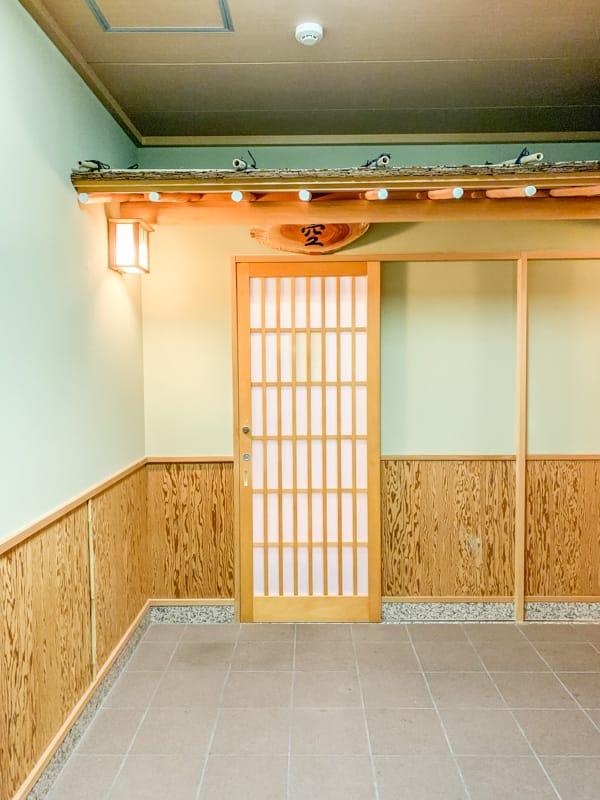 Kinosaki Onsen bath door