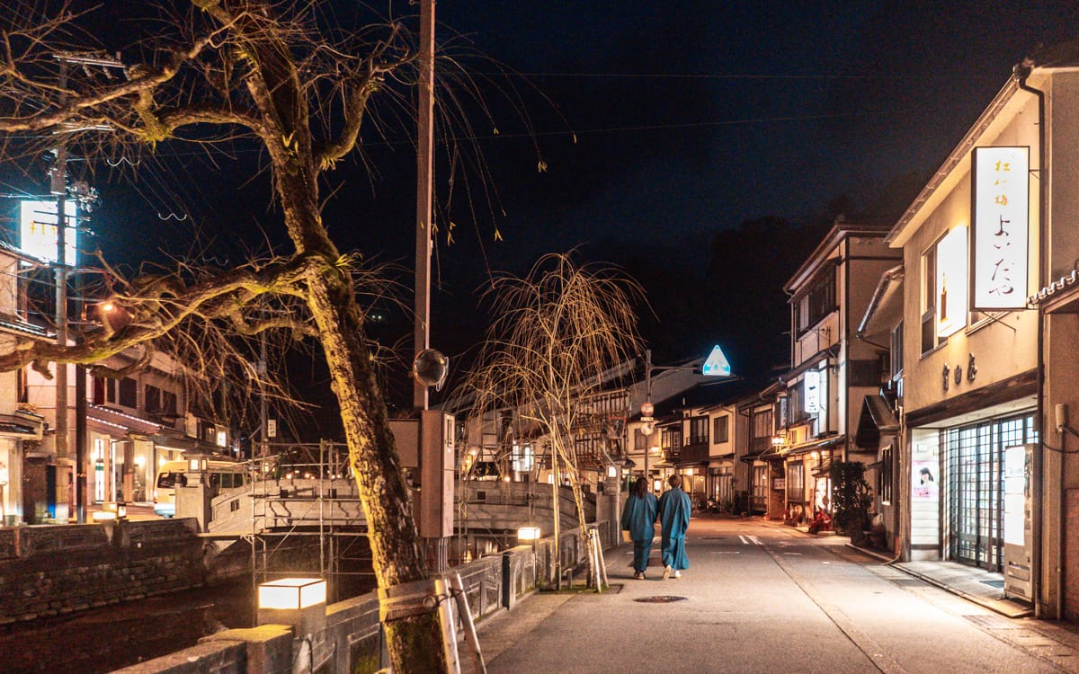Evening stroll, Kinosaki Onsen
