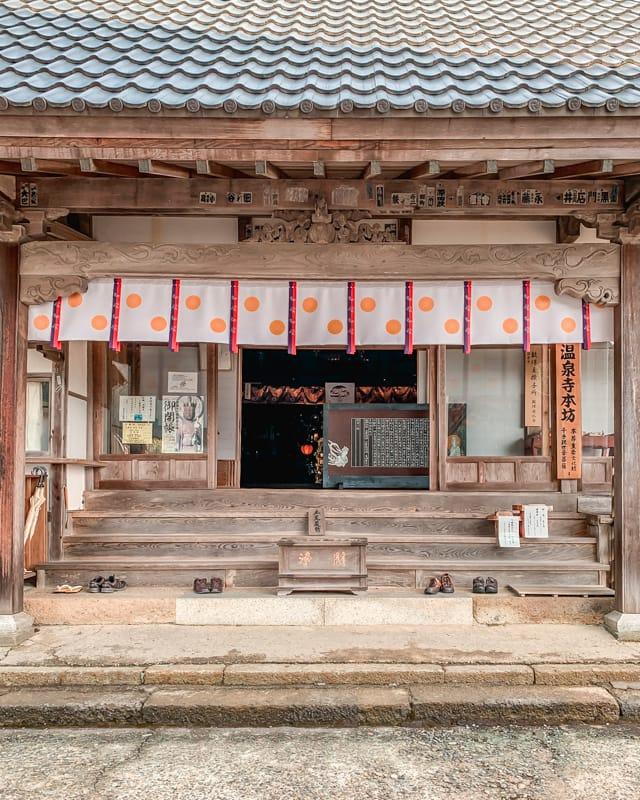 Onsenji Temple at Kinosaki Onsen