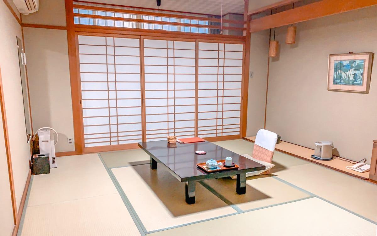 Ryokan stay at Kinosaki Onsen