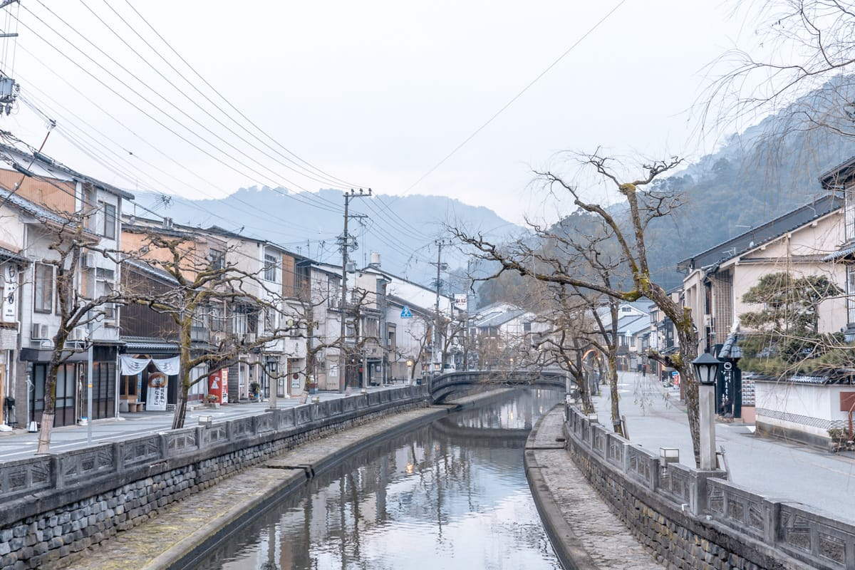 Kinosaki Onsen river