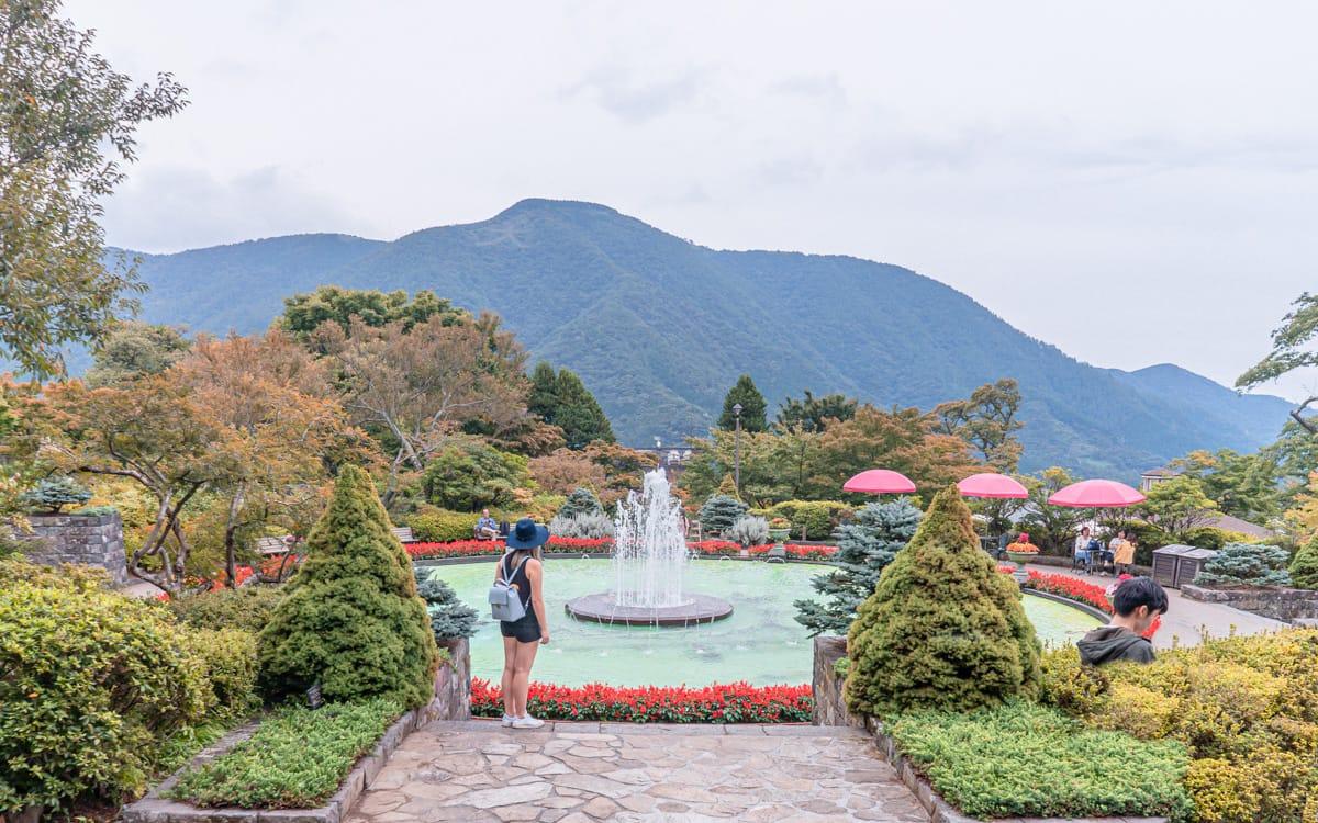 Gora Park in Hakone