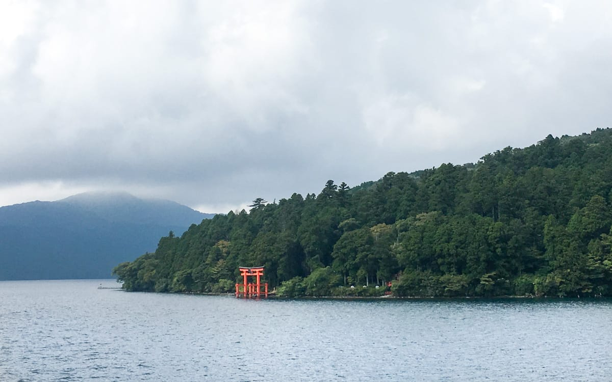 Lake Ashinoki Torri Gate